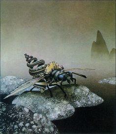 Roger Dean #fantasy #art