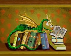 Dragon and Books