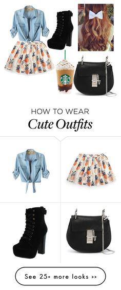 """""""Semi dressy summer outfit"""" by aniyah-moraza on Polyvore"""