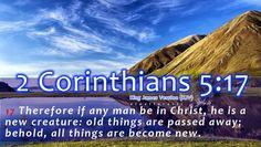 Bible Verse 2 Corinthians 5:17