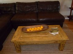 Coffee Table I made out of old pallets!! Only $15 to make!!