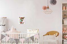 15 Fabulous Shabby Chic Nursery Designs You Will Adore Nursery Prints, Nursery Wall Art, Nursery Decor, Bedroom Decor, Wall Decor, Chic Nursery, Themed Nursery, Nursery Themes, Girl Nursery