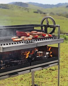 Williams Sonoma features barbecue accessories and outdoor grills. Find top-quality barbecue grills and tools designed for performance and durability. Bbq Grill, Bbq Pit Smoker, Grill N Chill, Grilling, Fire Grill, Asado Grill, Wood Grill, Grill Time, Outdoor Oven