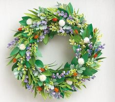 Quilled Wreath - by: Unknown Artist
