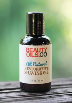 Easily make your own natural shave oil and say goodbye to razor burn for good.