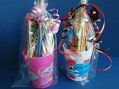 Party bags ideas for kids parties and a princess or pirates craft party