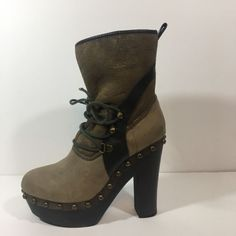 Koolaburras by Ugg Sheepskin Fur Platform Mid-Calf Boots US 6 AUS/UK 4 EUR 37 | eBay
