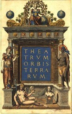 Атлас Абрахама Ортелия (Abraham Ortelius) 1570 года » Перуница