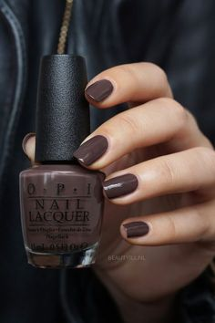 Nails gel polish ideas opi 29 Ideas for 2019 Opi Nail Colors, Fall Nail Colors, Warm Colors, Nail Colour, Winter Nails Colors 2019, Pretty Nail Colors, Brown Colors, Winter Colors, Colours