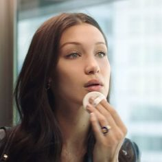 Take The Elevator with @bellahadid and find out her new face @diormakeup favorite: Diorskin Forever Perfect Cushion! 1st look: #foreverweekender for effortless luminous matte and sunkissed finishes. #diormakeupwithbella #diorforever  via DIOR OFFICIAL INSTAGRAM - Celebrity  Fashion  Haute Couture  Advertising  Culture  Beauty  Editorial Photography  Magazine Covers  Supermodels  Runway Models