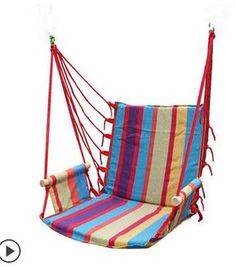 Cheap hammock outdoor, Buy Quality hanging chair hammock directly from China chair hammock Suppliers: hammock outdoor  dormitory bedroom swing send tying pouch colors Swinging hanging chair hammock thick canvas