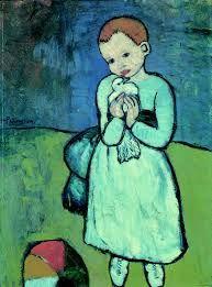 Picasso, bambina con la colomba: L'occhio di Dio (Parabola del figliol Prodigo Lc 15,11-32)