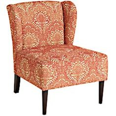 Pier 1 Imports > Catalog > Furniture & Living > Pier1ToGo Product Details - Coral Damask Annie Chair
