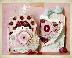 Beautiful Tag & Gift Set from #GlueArts and Designer Linda Albrecht