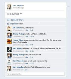 Exo Facebook 7/23