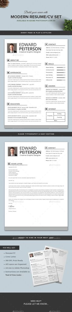 Resume Resume cv, Cv template and Creative resume templates - resume pro