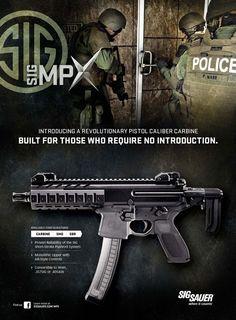 Sig Sauer MPX Adaptive Submachine Gun