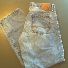 Men's American Eagle Loose fit denim jeans Men's denim jeans. Gently worn. No holes, and no rips. Perfect condition!!! American Eagle Outfitters Jeans Boot Cut