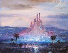 Mermaid Lagoon concept, Tokyo DisneySea - Peter Ellenshaw