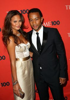 Chrissy Teigen and John Legend - Time's 100 Most Influential People In The World