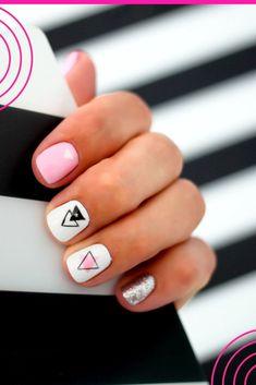 Pedicure, Nail Art, Prom, Nails, Beauty, Vestidos, White Nail Polish, Classy Gel Nails, Decorations