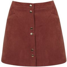 Miss Selfridge Suedette Mini A-line Skirt