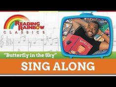 Reading Rainbow Theme Song - Sing-A-Long Rainbow Songs, Rainbow Theme, Rainbow Room, School Videos, Book Sites, Reading Rainbow, Brain Breaks, Classroom Inspiration, Kids Videos
