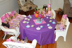 """Photo 3 of 18: American Girl / Birthday """"Ellie's American Girl Bistro""""   Catch My Party"""