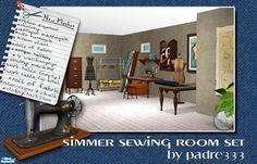TSR padre - sewing room set with recolors