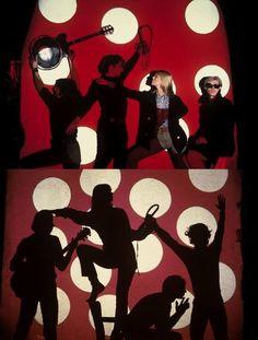John Cale, Andy Warhol, Nico & Gerard Malanga. © Herve Gloaguen
