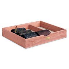 Woodlore Cedar Products - Tie Box, $19.95 (http://www.woodlore.com/tie-box/)
