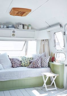A decked out airstream..