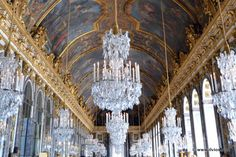 Hall of Mirrors - Palace Versailles - France
