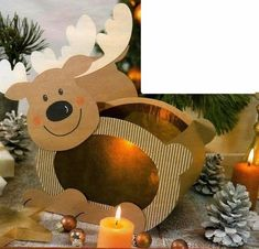 """""""Journey to the Land . Christmas Paper Crafts, Noel Christmas, Christmas Candles, Christmas Decorations, Christmas Ornaments, Christmas Stationery, Christmas Drawing, Craft Patterns, Xmas Cards"""