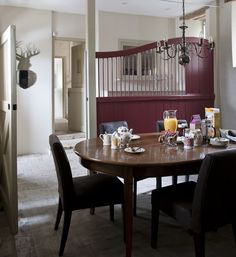 Our Neagle Dining Table in an English Country Style Dining Room