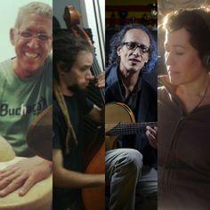 Nuevo integrante para Proyecto Afluentes que se convierte en cuarteto: el contrabajista  Emiliano Roca. Sandro, Folk, Argentine Tango, Choirs, Forks, Folk Music