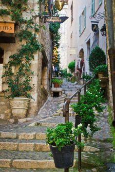Eze, France / Stairways and passageways