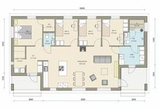 Kastelli - Ready 119/136 Sissi, Sweet Home, Floor Plans, Flooring, How To Plan, House, House Beautiful, Home, Wood Flooring