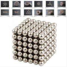 magnetic balls Fidget Cube, Fidget Toys, Cube Toy, Color Magic, Stress Relief Toys, Anxiety Relief, Rare Earth Magnets, Neodymium Magnets, Diy Toys