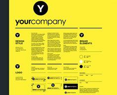 Brand Guideline Poster (via Creattica)
