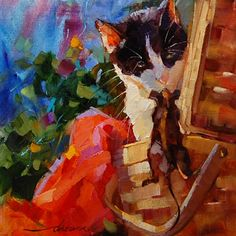 """Dreama Tolle Perry » Artist and Writer » """"Did You Pack the Tuna??"""" SOLD"""
