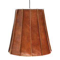 Leather lamp