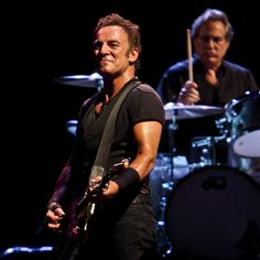 Bruce Springsteen performing live in Udine Italy, on July 23rd 2009
