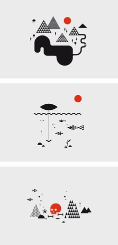 of religion, magic and witchcraft by MORPHORIA DESIGN COLLECTIVE , via Behance