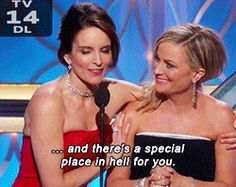 Taylor Swift's Fans Are Mad At Tina Fey And Amy Poehler Again. I just want to say how glorious this moment was. #TeamTinaandAmy