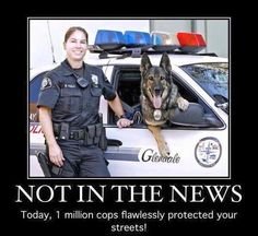 Not in the news for law-enforcement