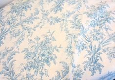 "Love this Ralph Lauren toile - ""Lakeville.""  It has a very unusual visual texture - looks like linen."