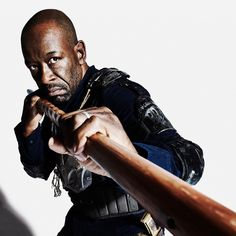 "The Walking Dead S8 Lennie James as ""Morgan"""