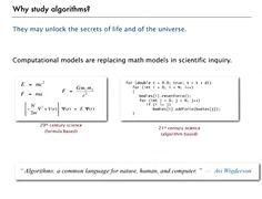 Algoritmi: i modelli computazionali stanno sostituendo i modelli matematici?