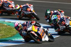 Record breaking Red Bull MotoGP Rookies Cup Test in Jerez - Three days of preseason testing in Southern Spain for the twelfth year of the Red Bull MotoGP Rookies Cup produced record breaking pace and an intensity of competition that exceeding even the extreme norms of the series. Jerez put on perfect weather, KTM provided and improved machine and the... - http://superbike-news.co.uk/wordpress/record-breaking-red-bull-motogp-rookies-cup-test-in-jerez/
